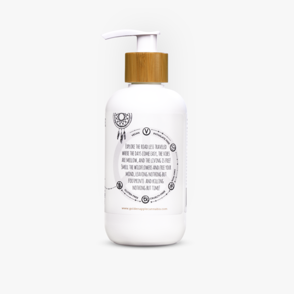 Flower Power CBD Lotion - Golden Apple Cannabis Co. - Central Coast, California