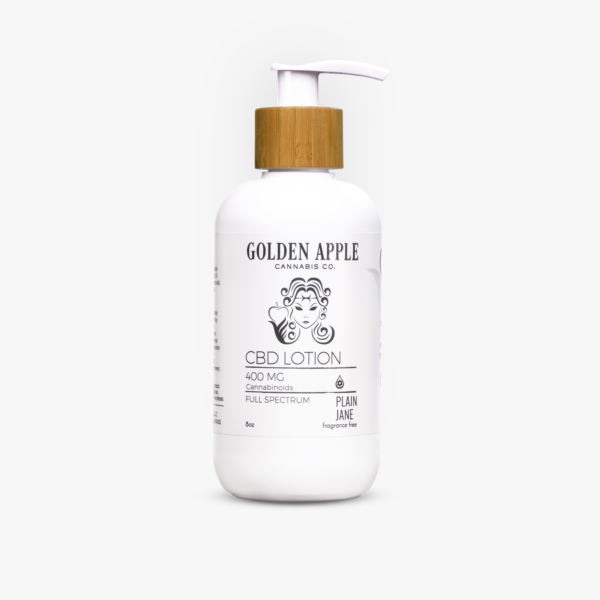 Plain Jane CBD Lotion - Golden Apple Cannabis Co. - Central Coast, California