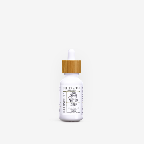 Sleep CBD Tincture - Golden Apple Cannabis Co. - Central Coast, California