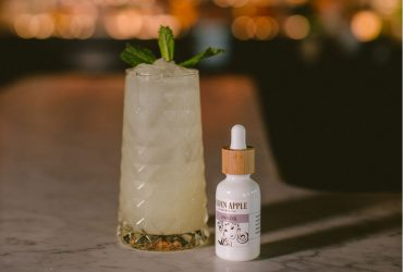 Golden Apple Cannabis Terpene Cocktail Recipe - The Law of Fives