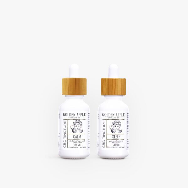 Joy Tincture Collection - CBD - Golden Apple Cannabis Co.