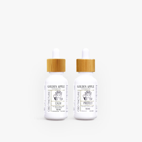 Relief Tincture Collection - CBD - Golden Apple Cannabis Co.