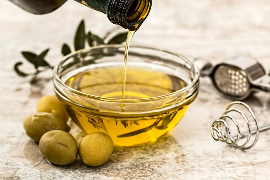 When cooking with CBD, it's important to choose the right oil for your recipe, like olive or avocado oil.